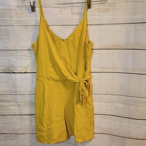 One Clothing Mustard Yellow Romper, Small